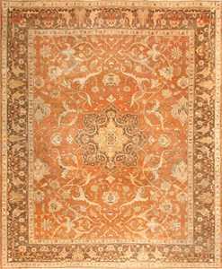 Decorative Antique Indian Amritsar Rug 50438 Nazmiyal