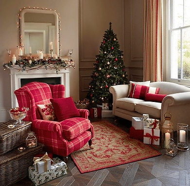 Festive Holiday Interior Design Makeover - Nazmiyal