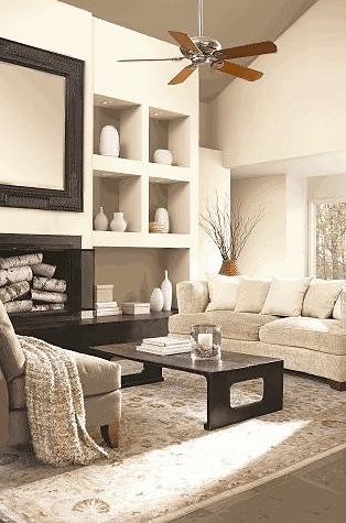 Glidden Cappuccino White Interior Design Trends - Nazmiyal