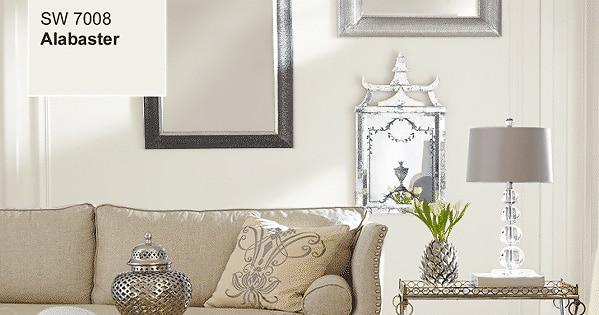 Interior Design Color Trends - Alabaster by Sherwin Williams - Namziyal