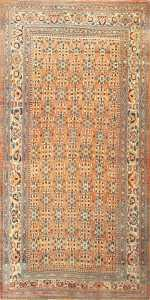 Large Antique Persian Khorassan Rug 50459 Nazmiyal