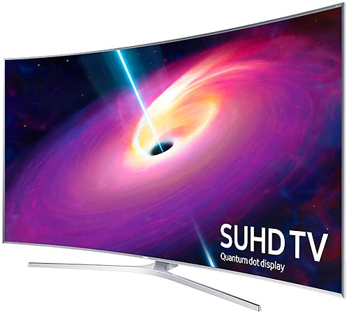 Luxury Holiday Gifts - Samsung 88 in Curved Led Smart 3D Ultra HDTV by Nazmiyal