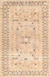 Small Vintage Caucasian Carpet 48091 Nazmiyal