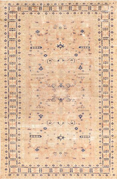 Small Vintage Caucasian Carpet 48091