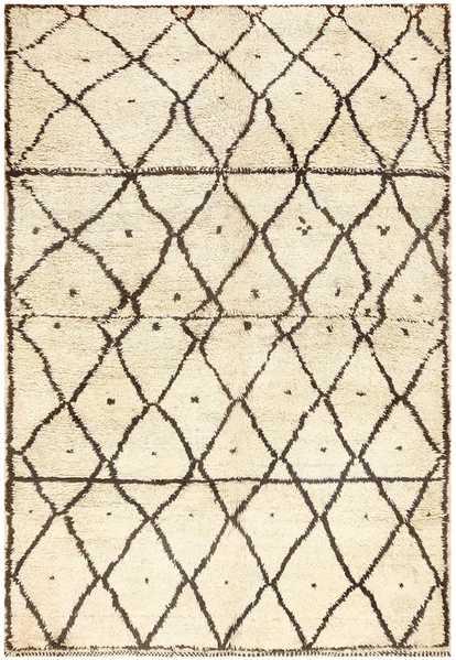 Vintage Moroccan Rug 48398