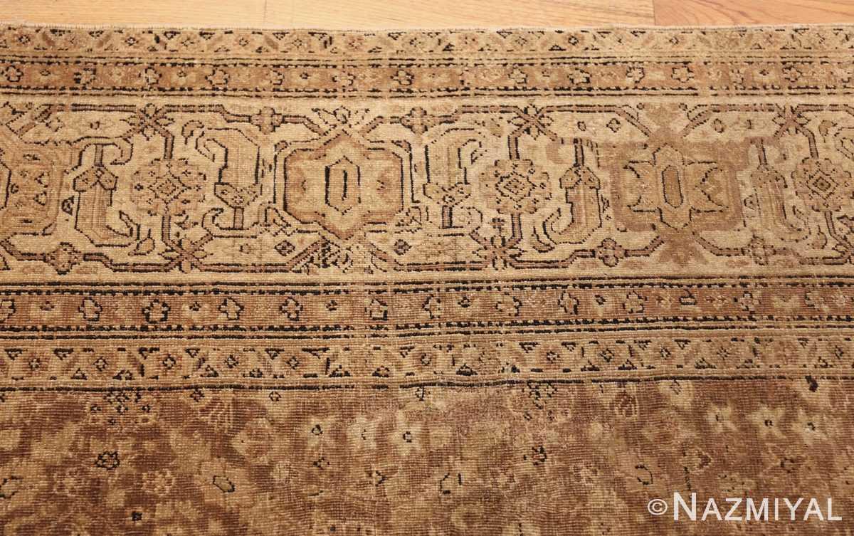 all over design antique indian amritsar rug 50455 border Nazmiyal