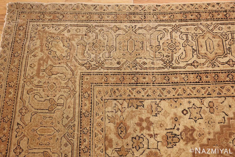 all over design antique indian amritsar rug 50455 corner Nazmiyal