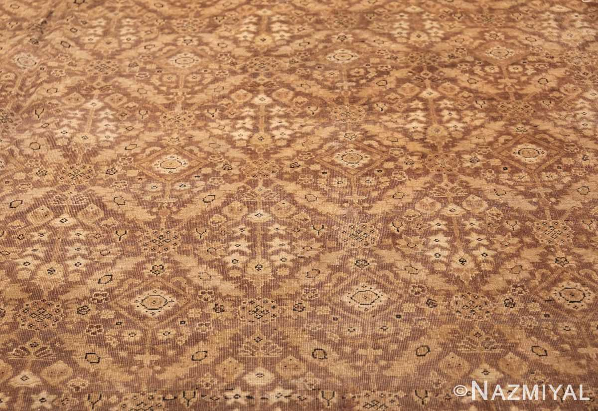 all over design antique indian amritsar rug 50455 field Nazmiyal
