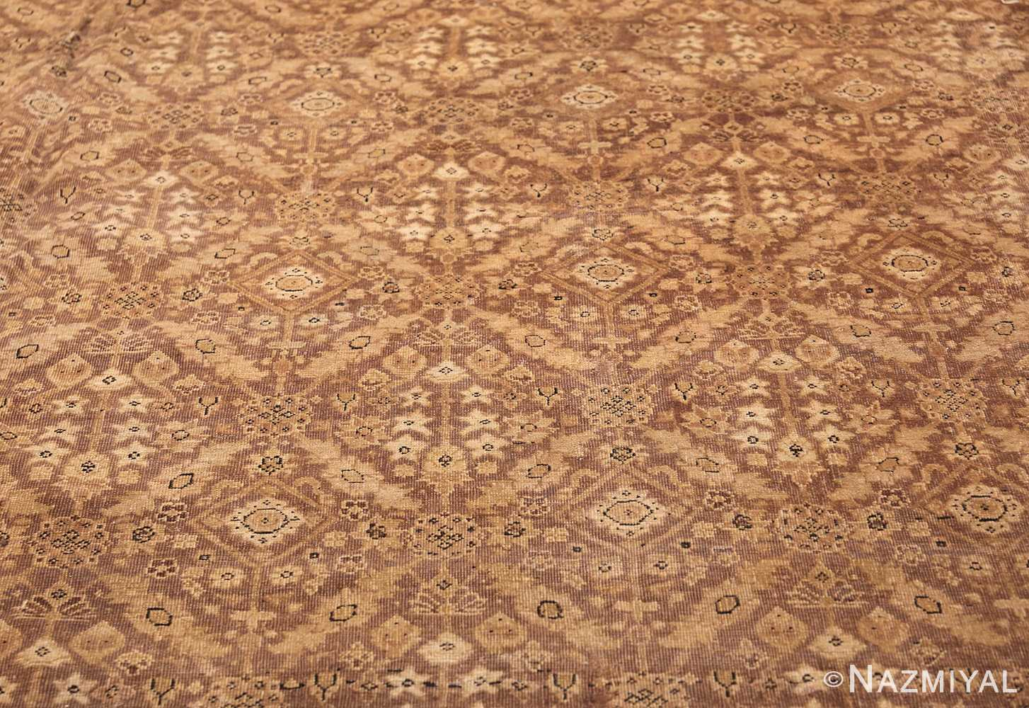 all over design antique indian amritsar rug 50455 field Nazmiyal