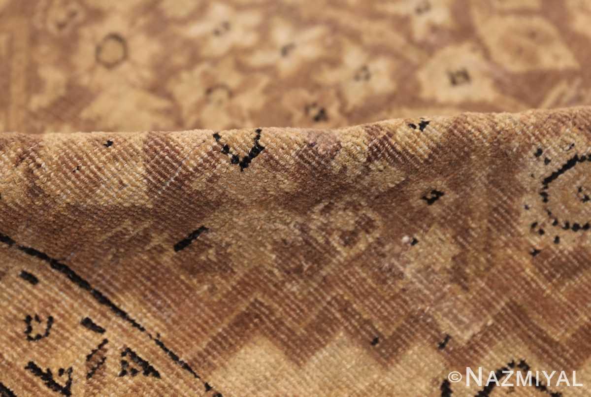 all over design antique indian amritsar rug 50455 pile Nazmiyal