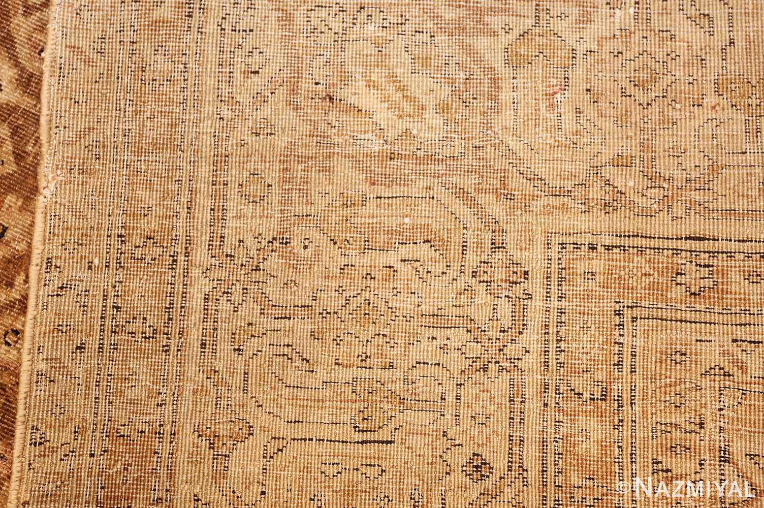all over design antique indian amritsar rug 50455 weave Nazmiyal
