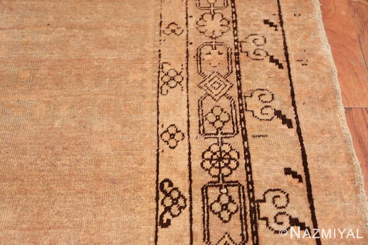 Antique East Turkestan Khotan Rug 50495 Border Design Nazmiyal