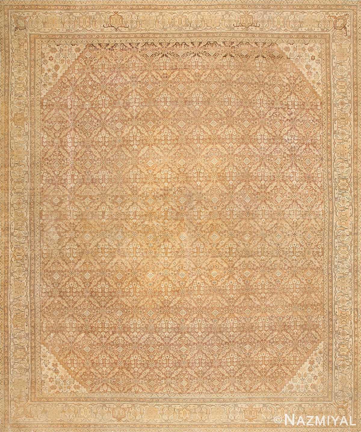 Antique Indian Amritsar Rug 50455 Detail/Large View