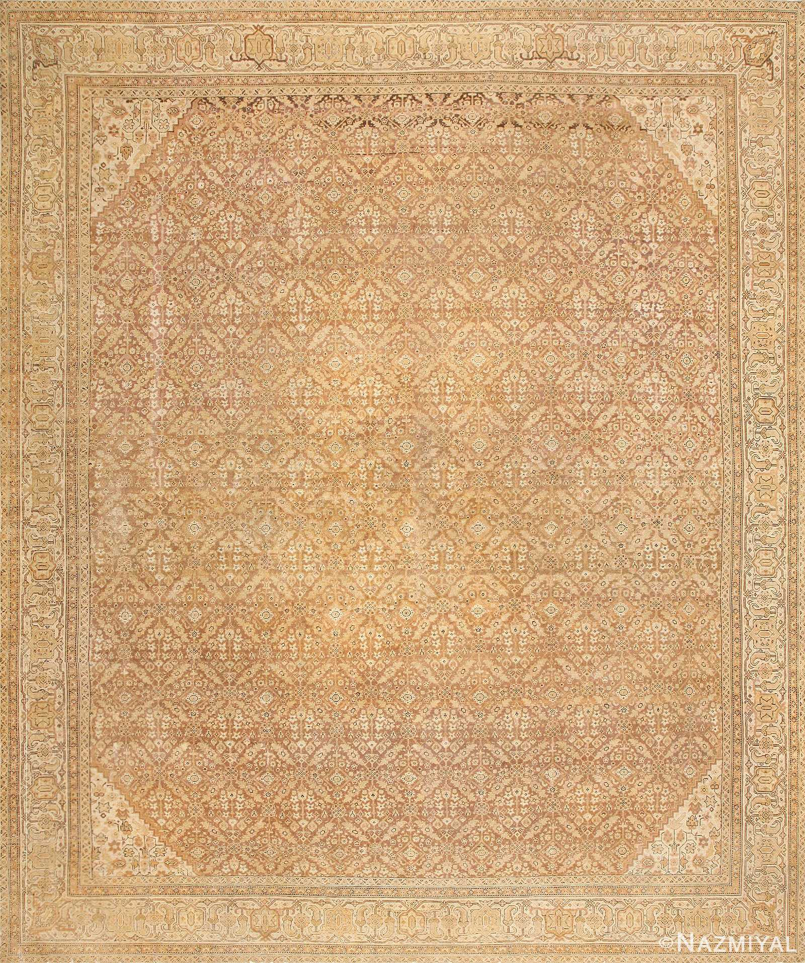 Antique Indian Amritsar Rug 50455 Detail/Large View
