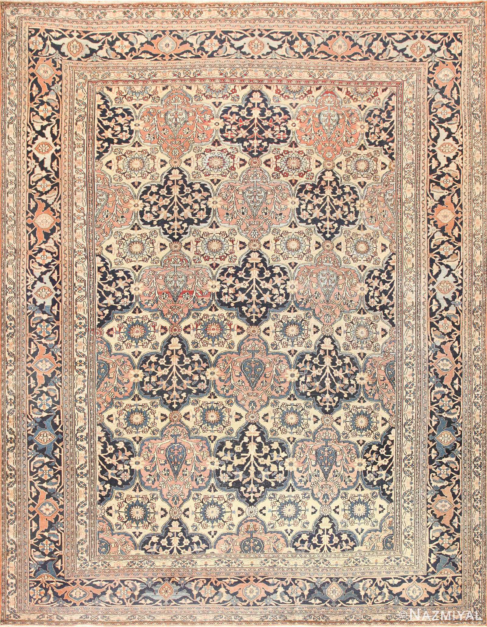 Antique Persian Khorassan Rug 50470 Nazmiyal