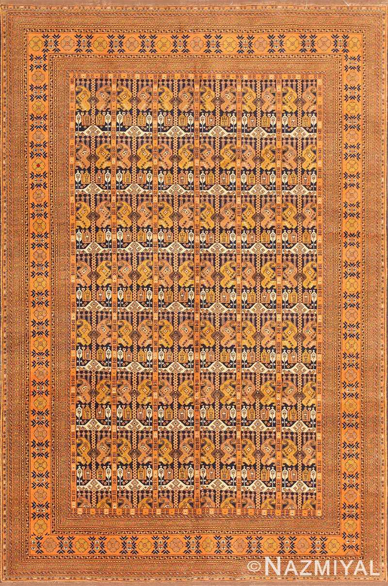 Antique Persian Malayer Runner Rug 50524 Nazmiyal