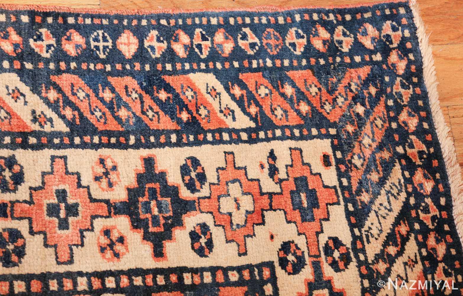 antique tribal caucasian rug 50479 corner Nazmiyal