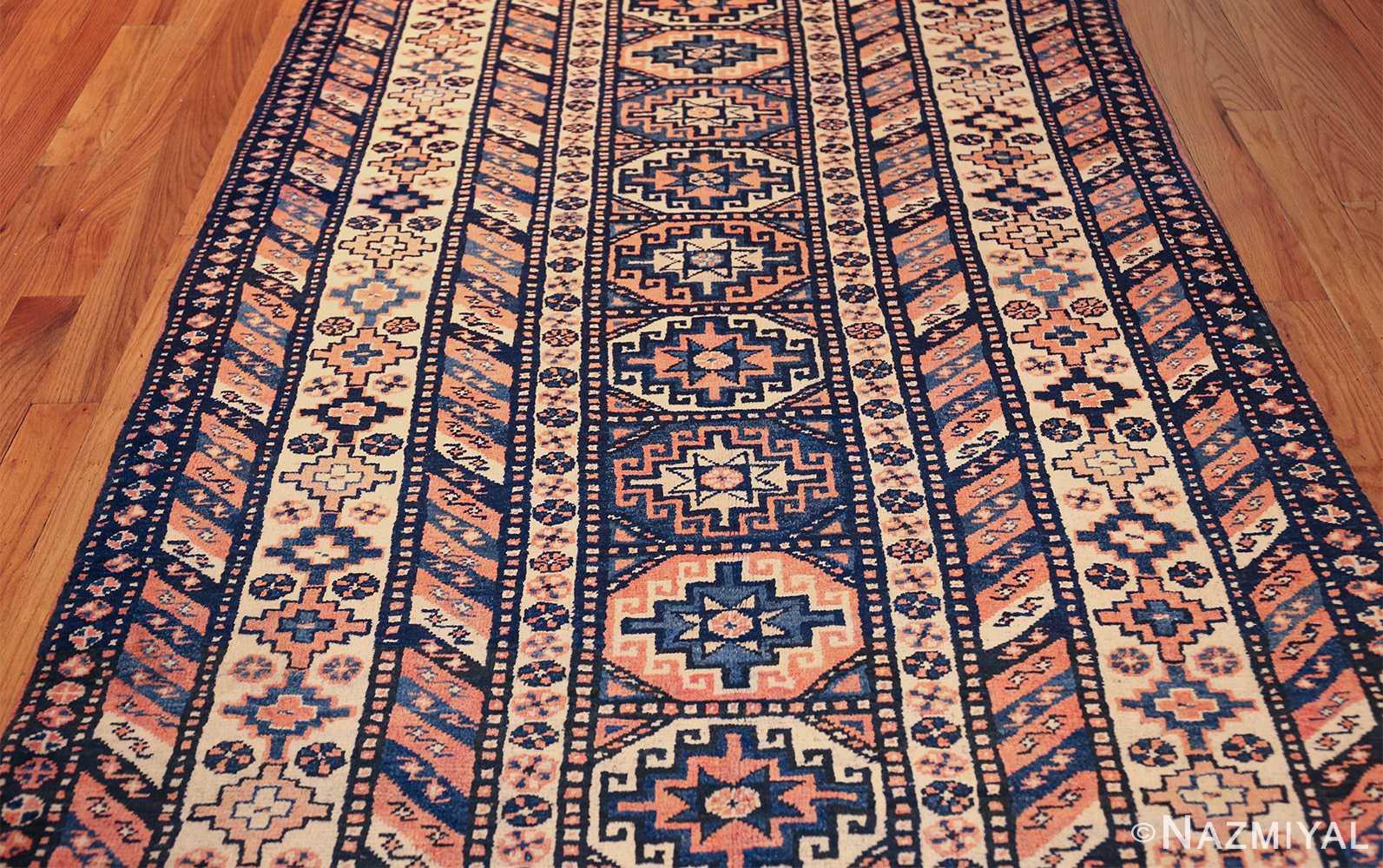 antique tribal caucasian rug 50479 field Nazmiyal
