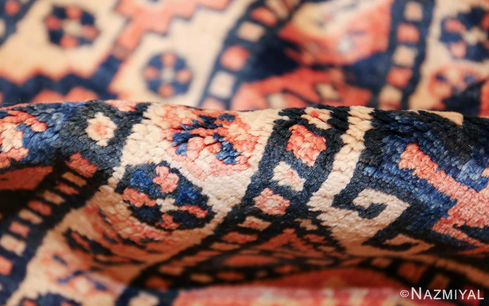 antique tribal caucasian rug 50479 pile Nazmiyal