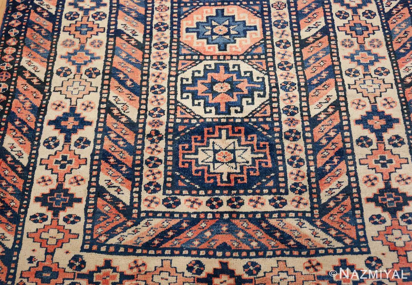 antique tribal caucasian rug 50479 top Nazmiyal