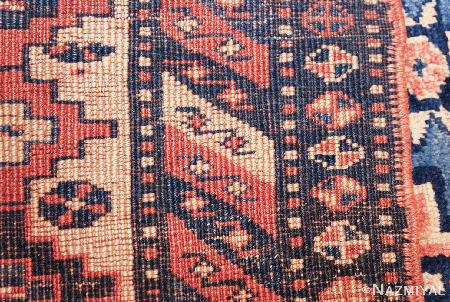 antique tribal caucasian rug 50479 weave Nazmiyal