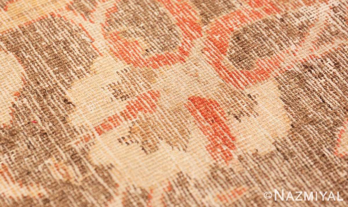 Weave detail Decorative Antique Indian Amritsar rug 50438 by Nazmiyal