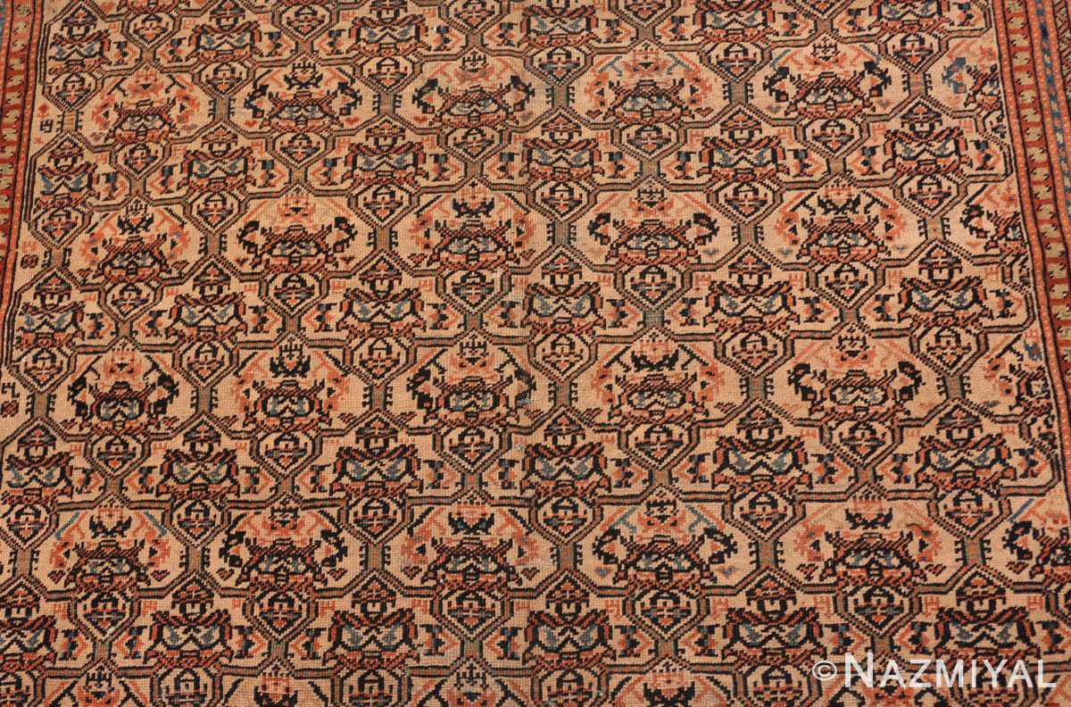 Background gallery size antique Persian Farahan rug 50446 by Nazmiyal
