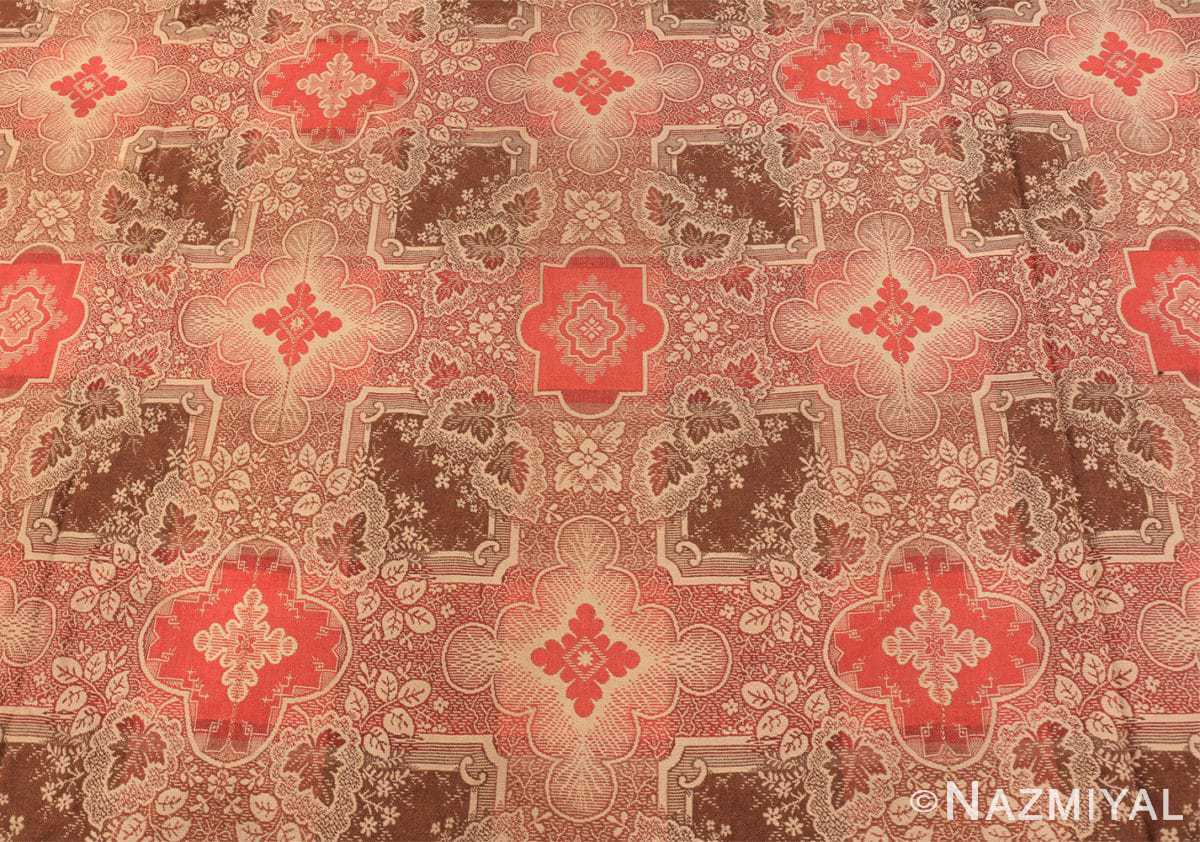 Background large all over design antique American Ingrain rug 50460 by Nazmiyal