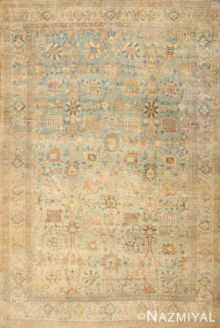 Beautiful Antique Persian Kerman Rug 47410 Nazmiyal