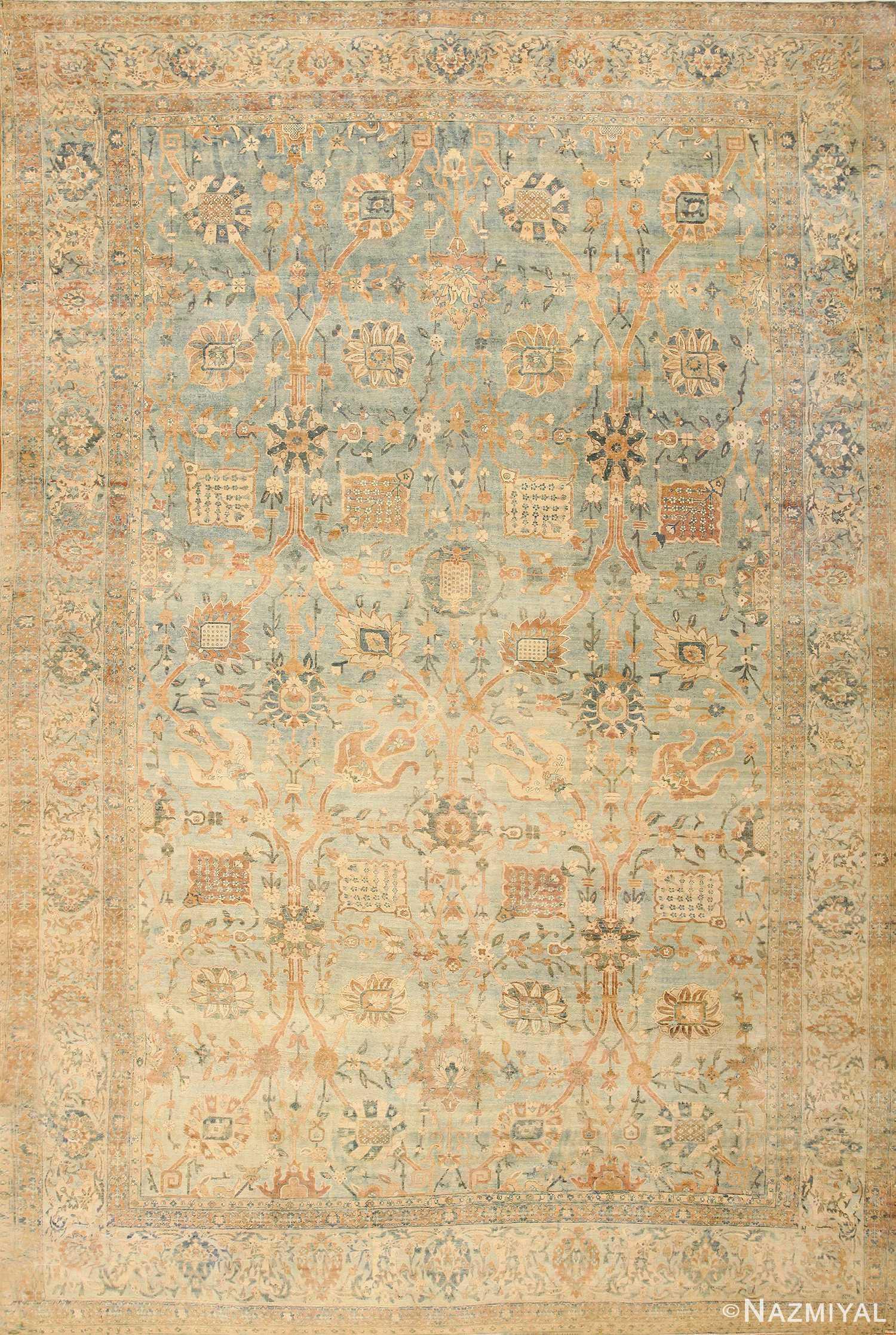 Beautiful Antique Persian Kerman Rug 47410 Nazmiyal