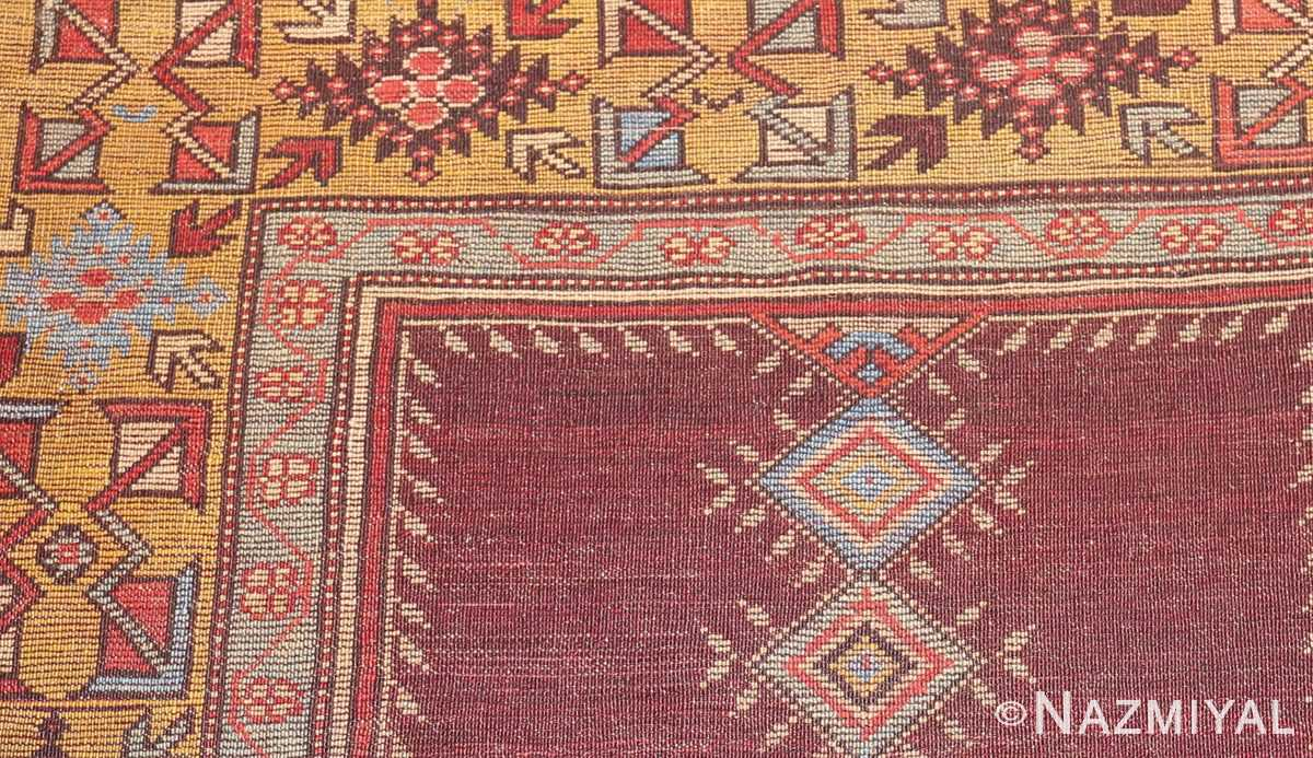 beautiful antique turkish bergama prayer rug 48722 weave Nazmiyal