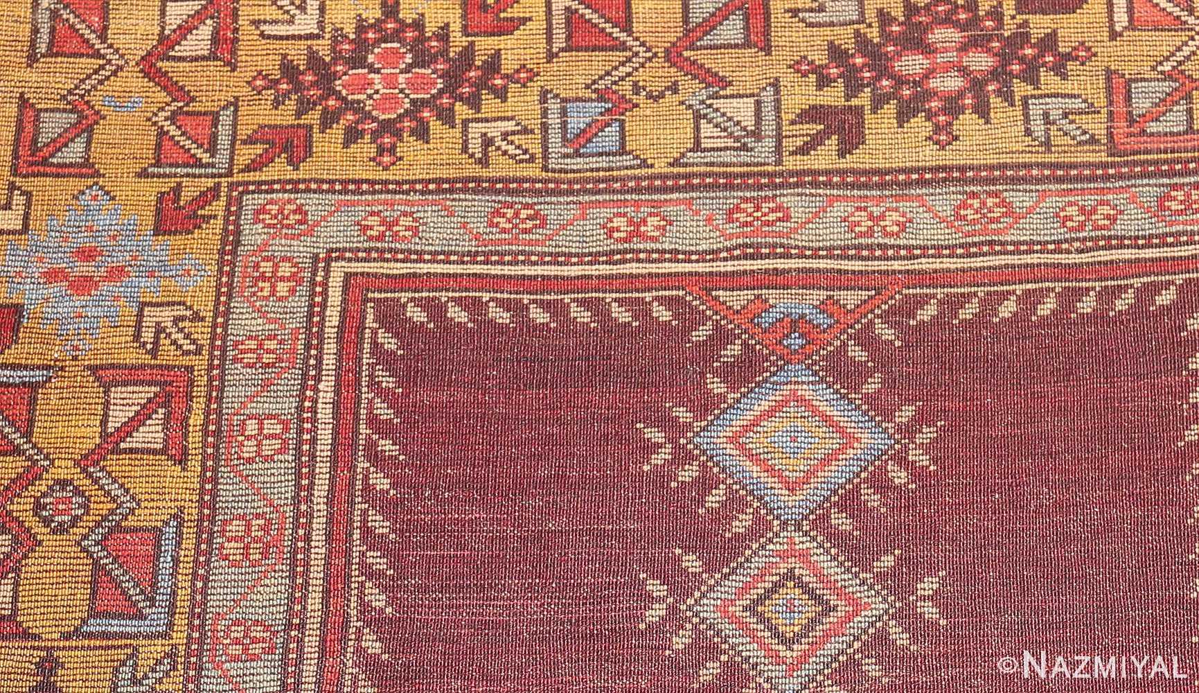 beautiful antique turkish bergama prayer rug 48722 weave Nazmiyal