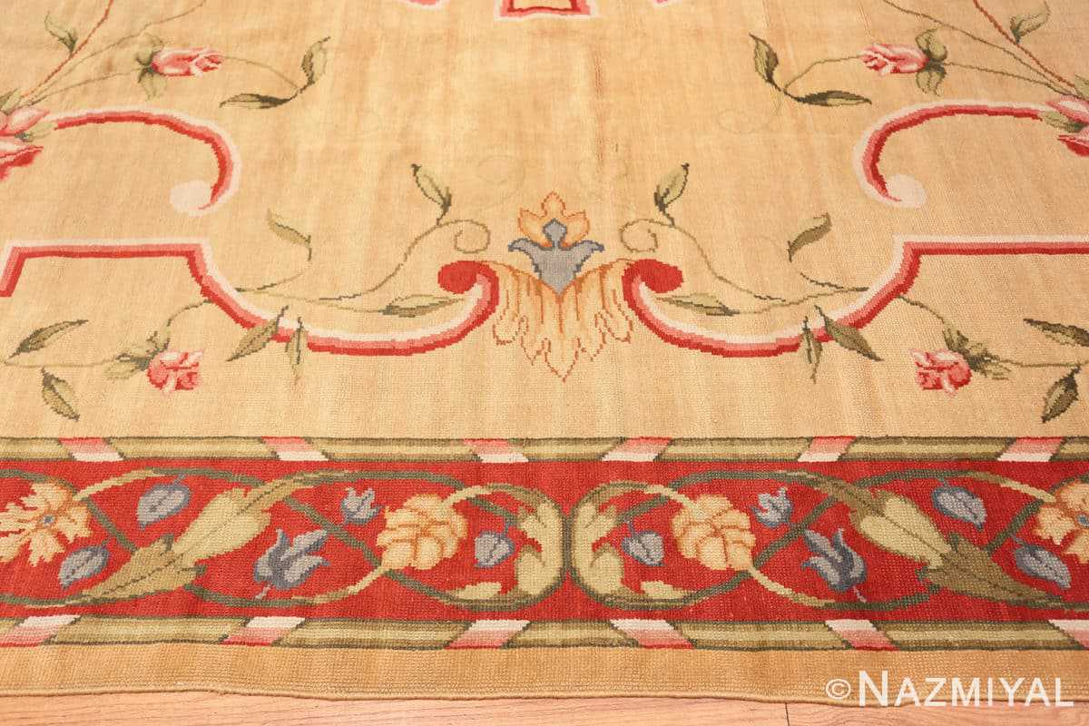 Border Antique French rug 50471 by Nazmiyal