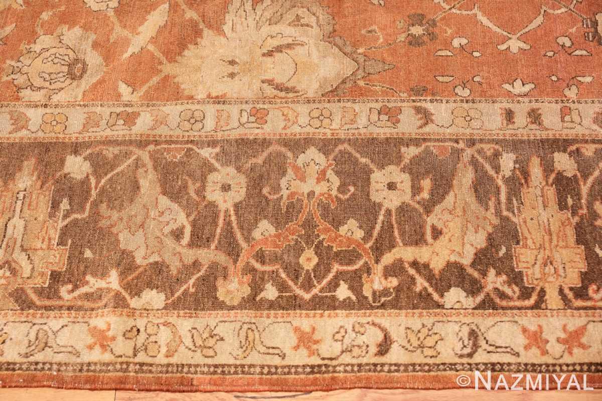 Border Decorative Antique Indian Amritsar rug 50438 by Nazmiyal