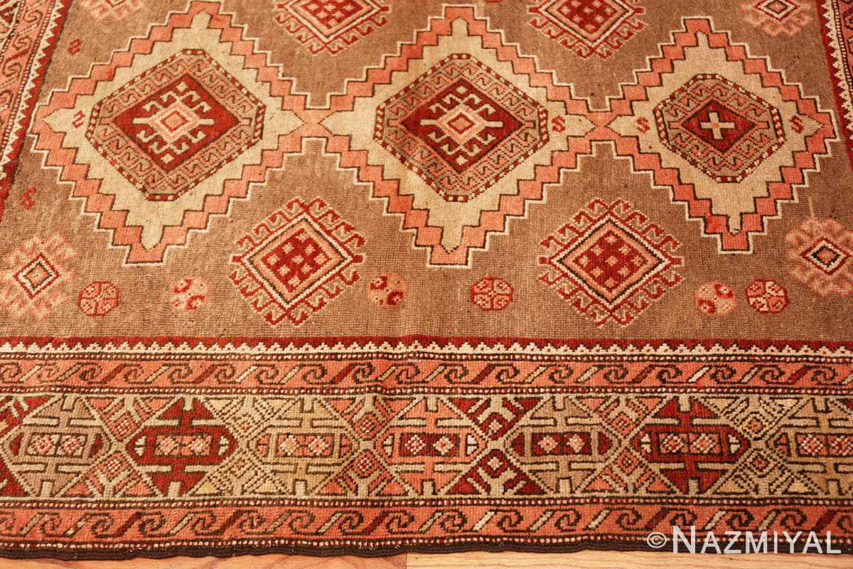 Border Tribal Vintage Caucasian Kazak rug 50519 by Nazmiyal
