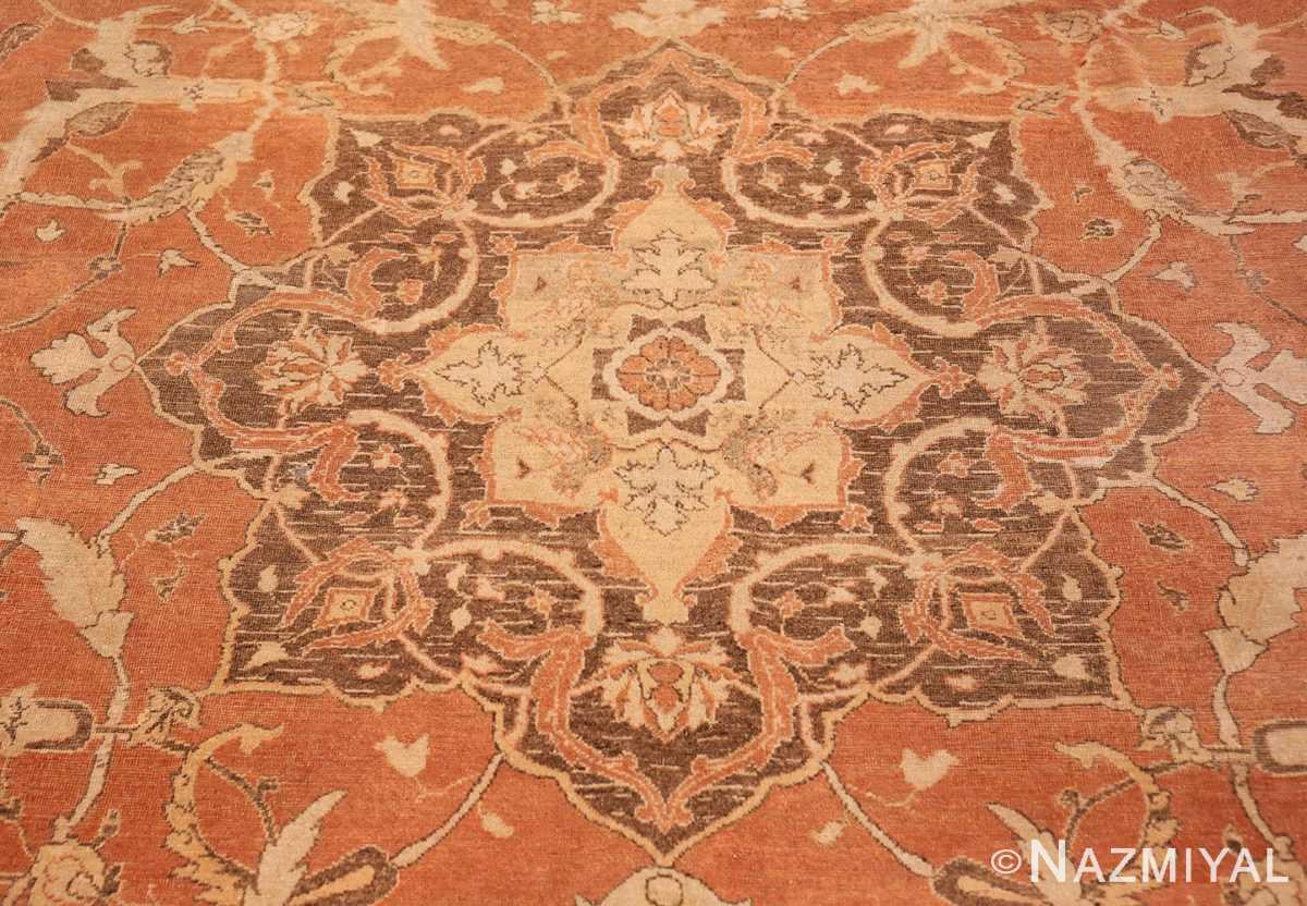 Center Decorative Antique Indian Amritsar rug 50438 by Nazmiyal