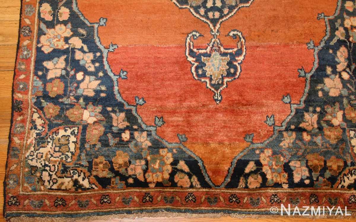 central medallion antique persian malayer rug 50498 border Nazmiyal