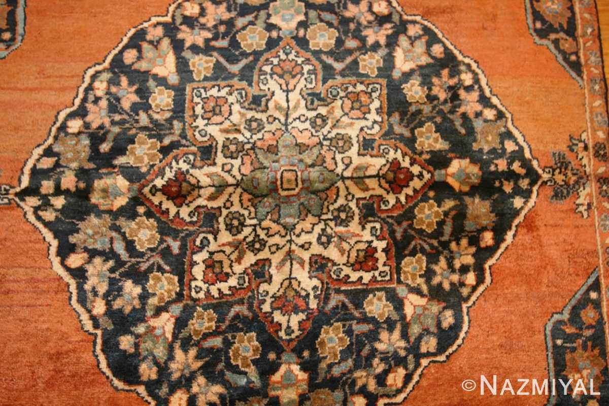 central medallion antique persian malayer rug 50498 medallion Nazmiyal