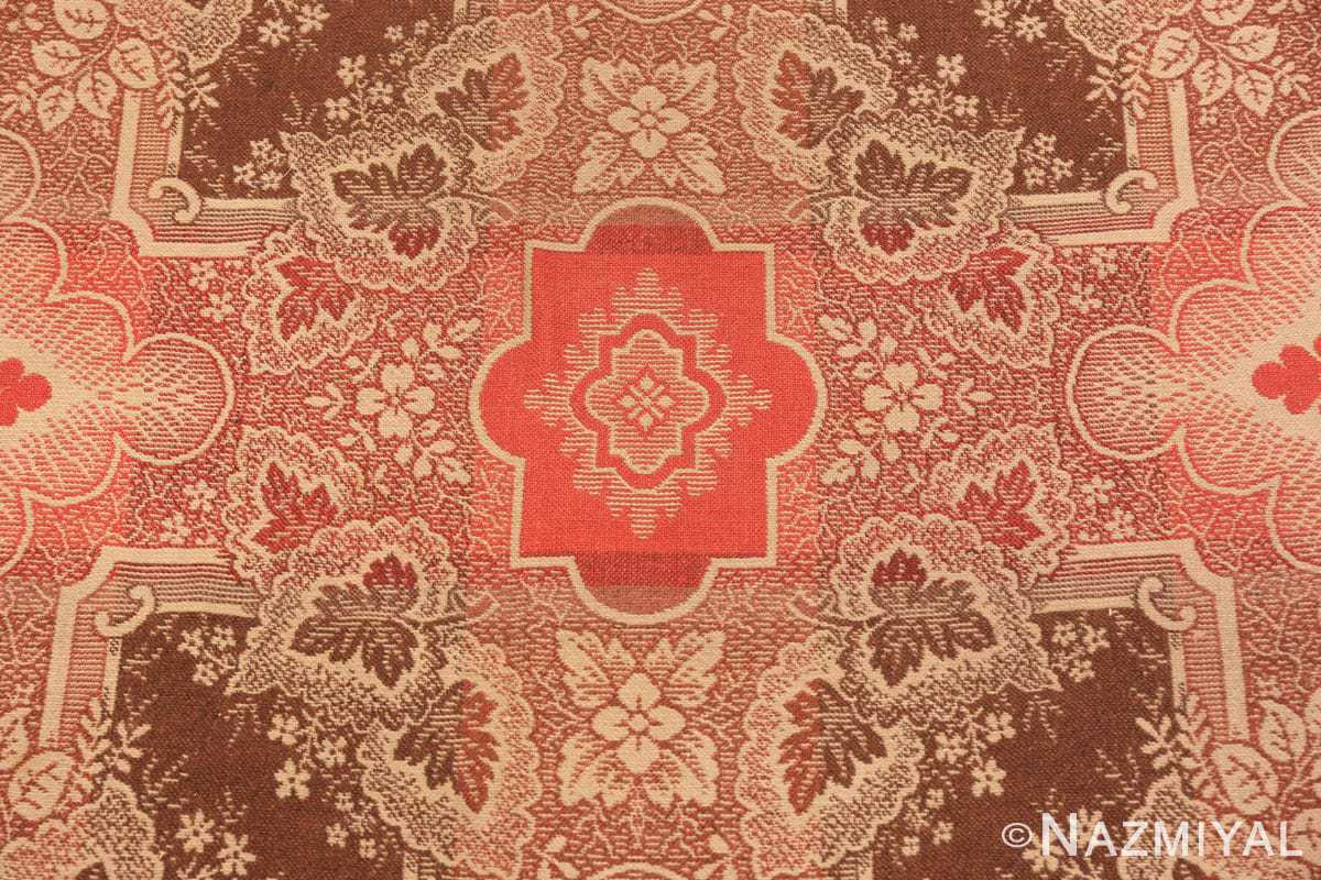 Close-up large all over design antique American Ingrain rug 50460 by Nazmiyal