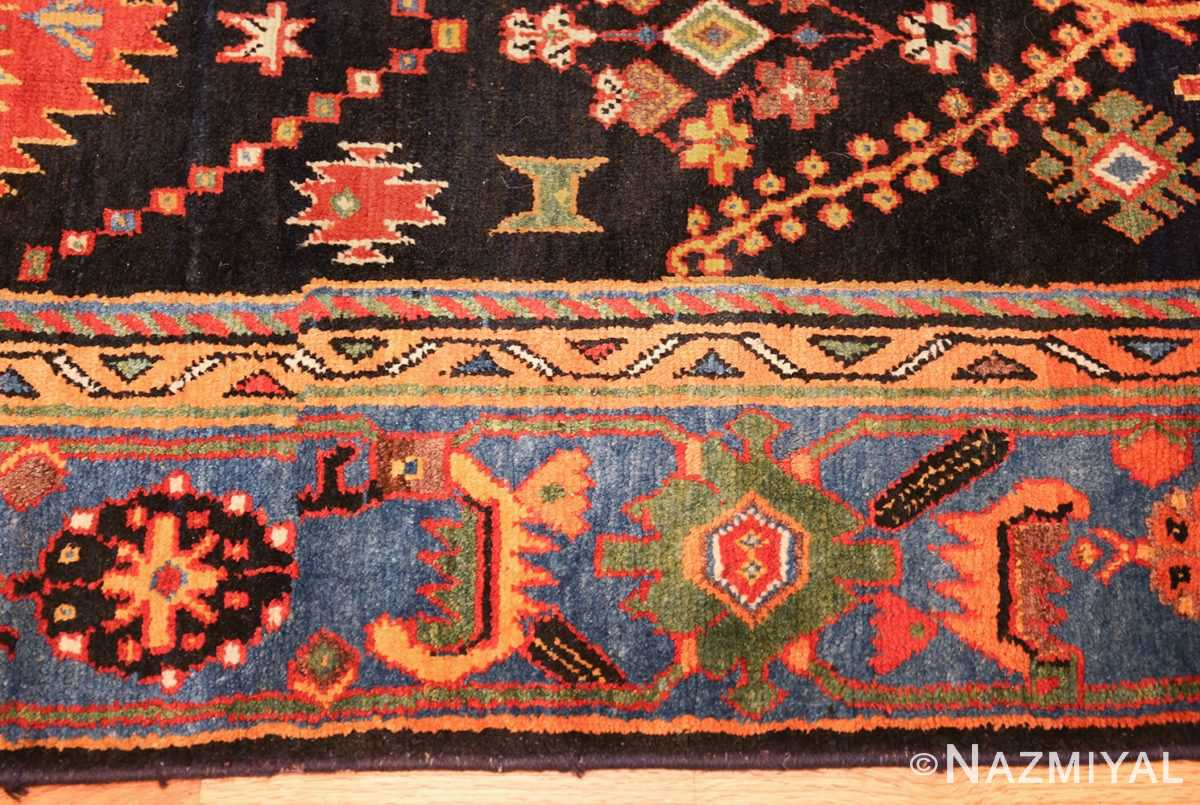 colorful antique persian bakhtiari rug 48728 border Nazmiyal