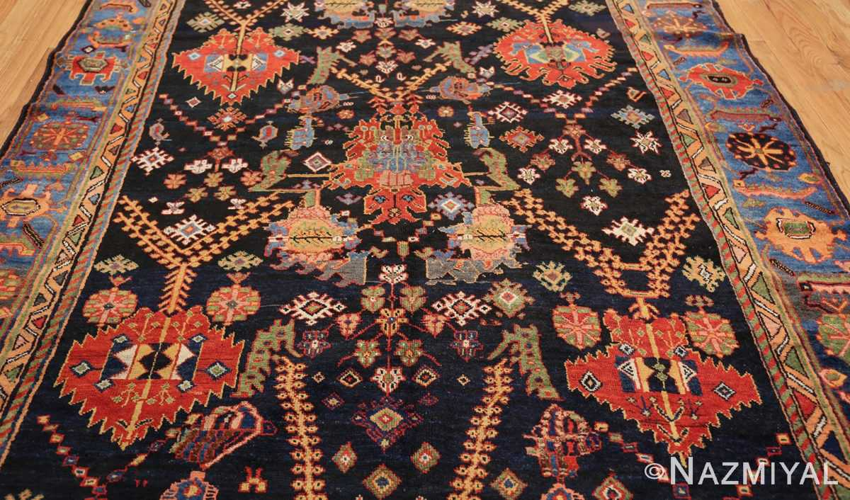 colorful antique persian bakhtiari rug 48728 center Nazmiyal