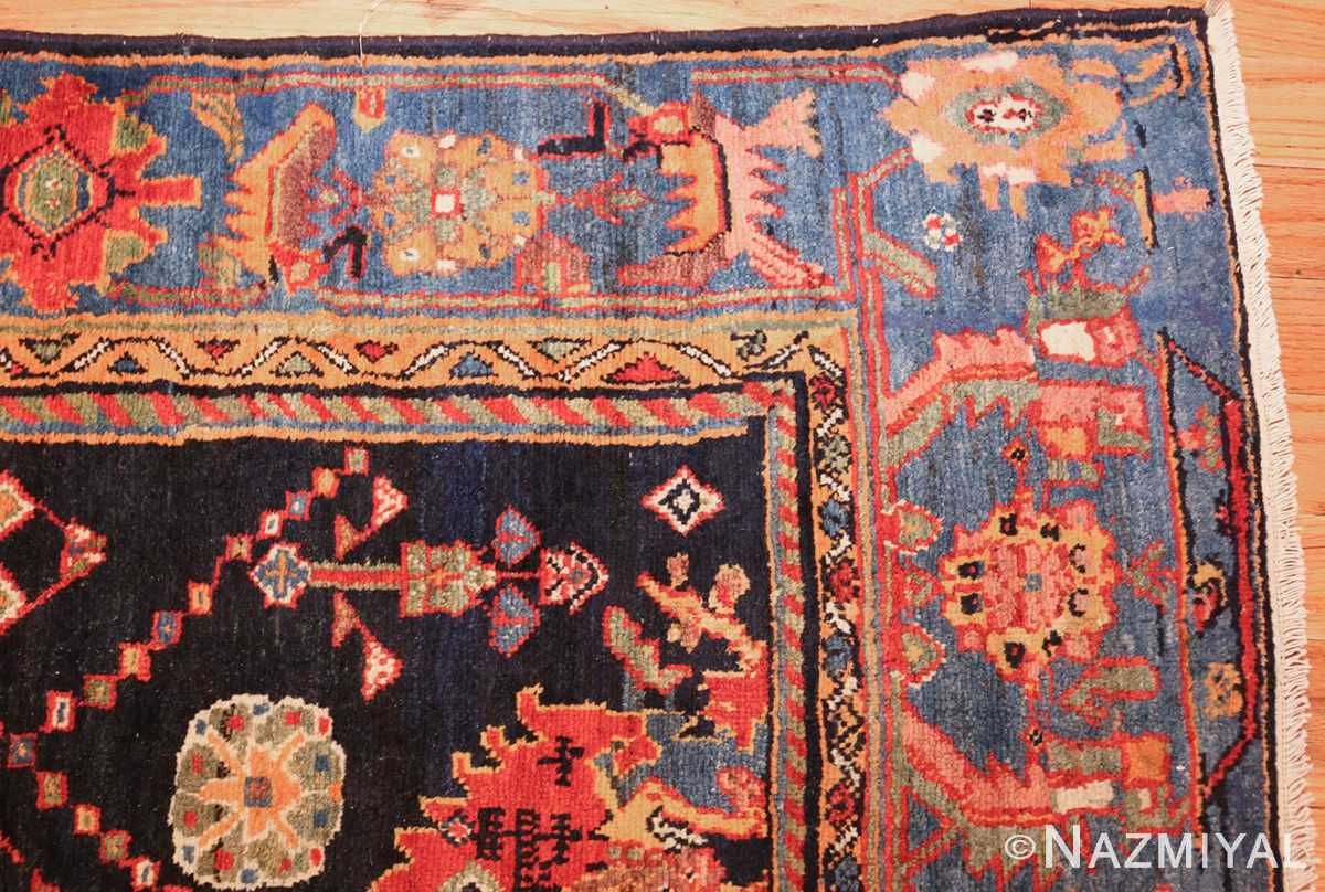 colorful antique persian bakhtiari rug 48728 corner Nazmiyal