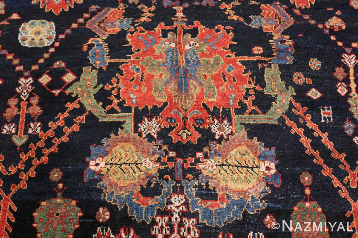 colorful antique persian bakhtiari rug 48728 design Nazmiyal