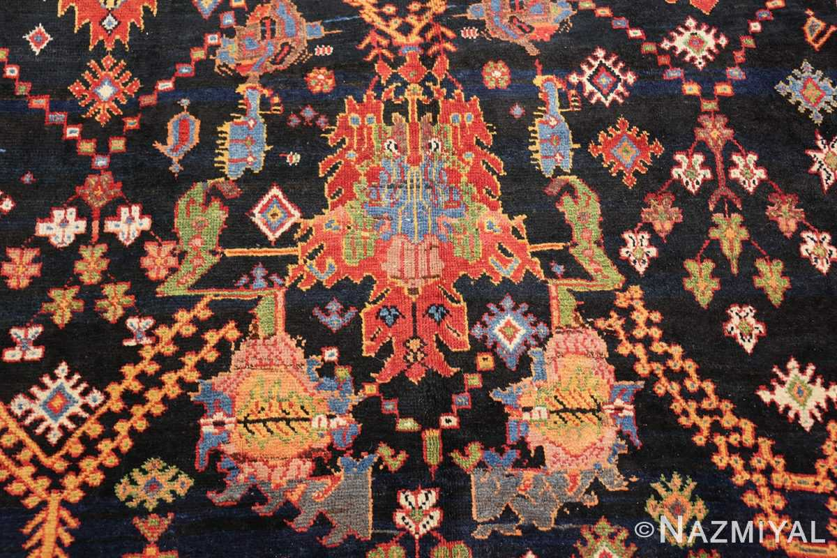 colorful antique persian bakhtiari rug 48728 red Nazmiyal