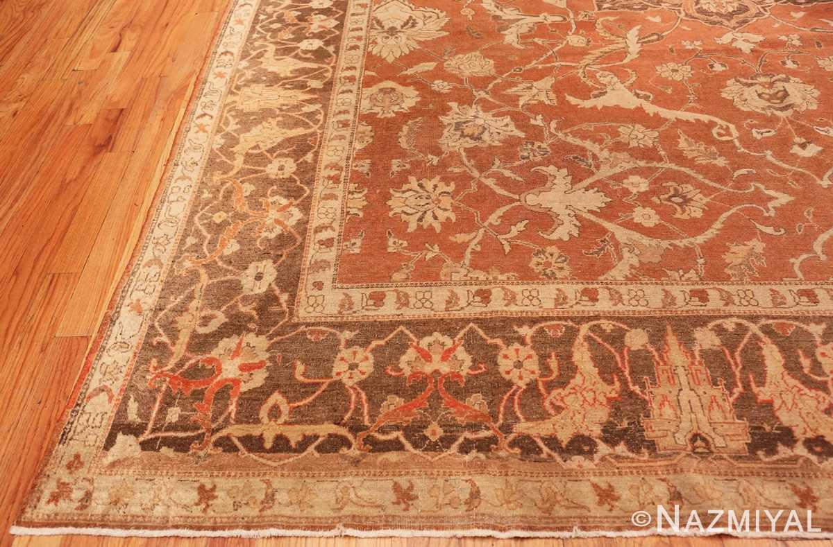 Corner Decorative Antique Indian Amritsar rug 50438 by Nazmiyal