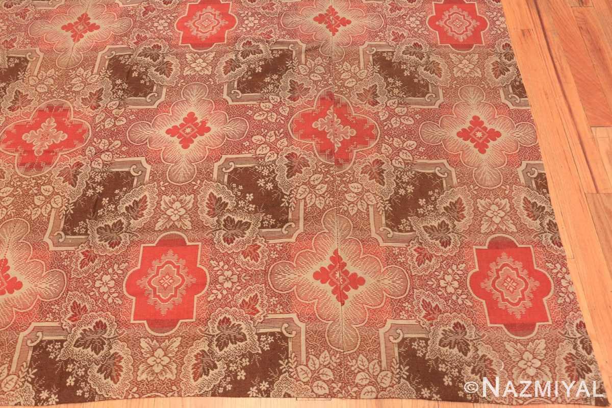 Corner large all over design antique American Ingrain rug 50460 by Nazmiyal