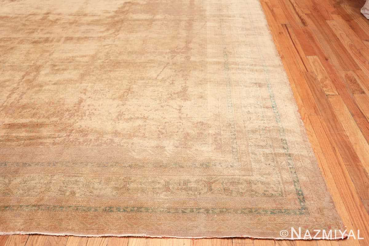 Corner Large Antique Indian rug 50449 by Nazmiyal