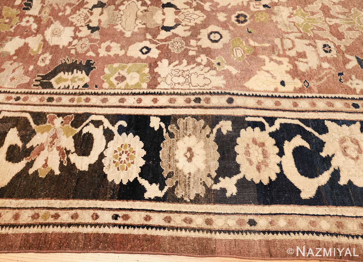 decorative antique persian sultanabad rug 48093 border Nazmiyal