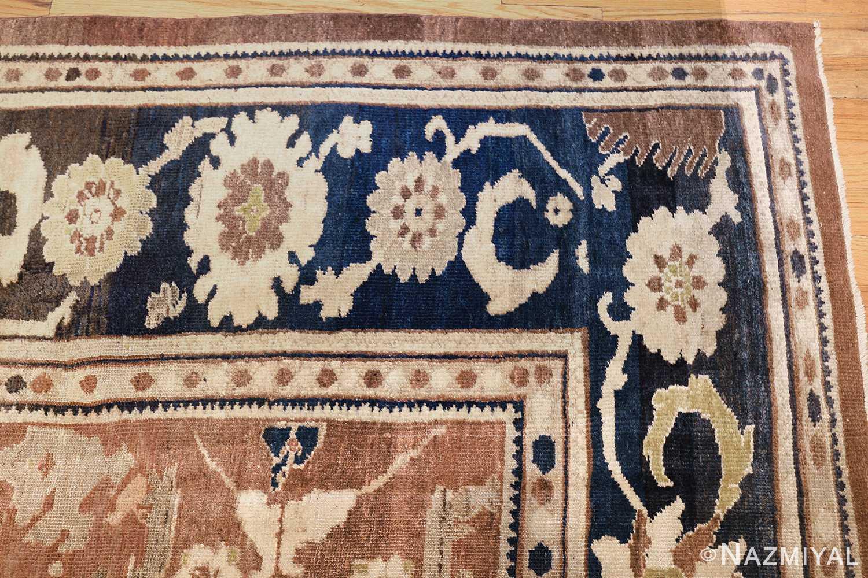 decorative antique persian sultanabad rug 48093 corner Nazmiyal