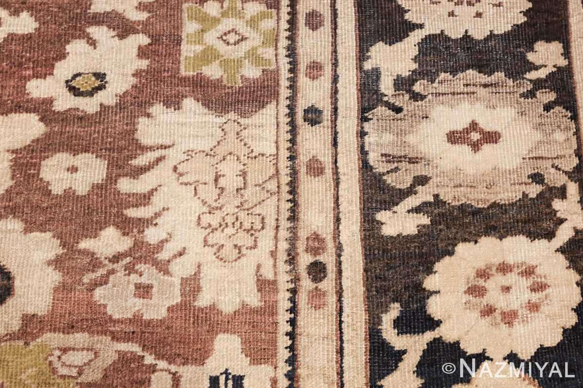 decorative antique persian sultanabad rug 48093 design Nazmiyal